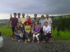Our first group tour from Singapore